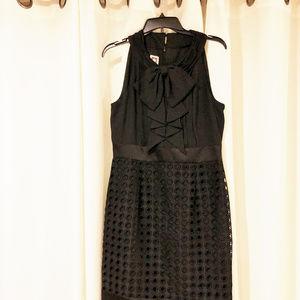Anne Klein womens new sz 10 black dress polyester
